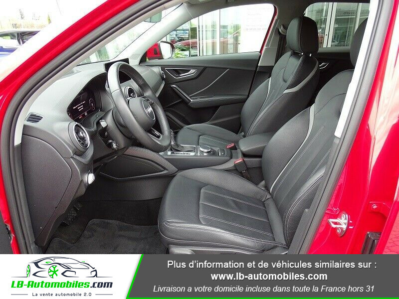 Audi Q2 2.0 TDI 190 ch S tronic 7 Quattro / S-Line Rouge occasion à Beaupuy - photo n°4