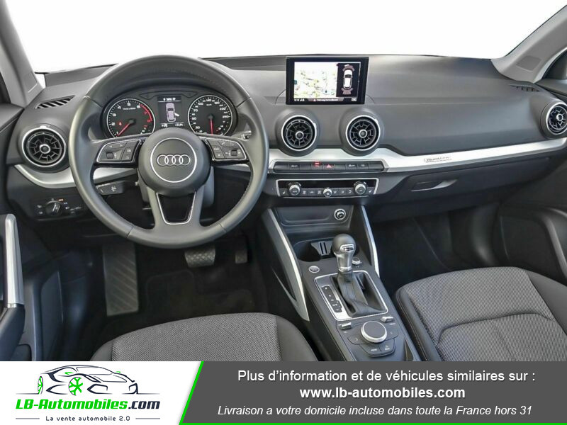 Audi Q2 2.0 TFSI 190 ch S tronic 7 Quattro Bleu occasion à Beaupuy - photo n°2