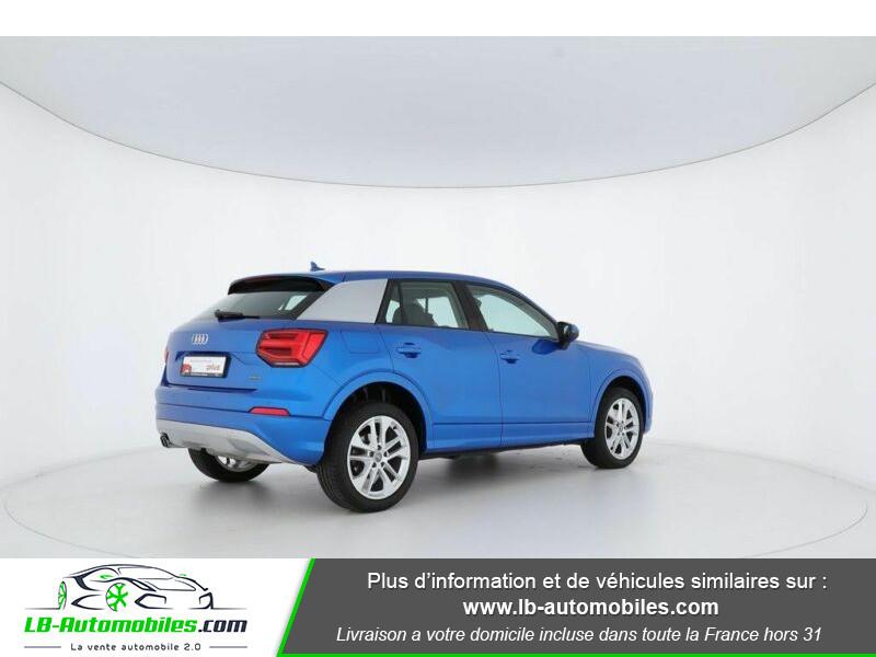 Audi Q2 2.0 TFSI 190 ch S tronic 7 Quattro Bleu occasion à Beaupuy - photo n°3