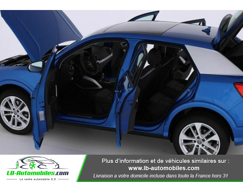 Audi Q2 2.0 TFSI 190 ch S tronic 7 Quattro Bleu occasion à Beaupuy - photo n°10