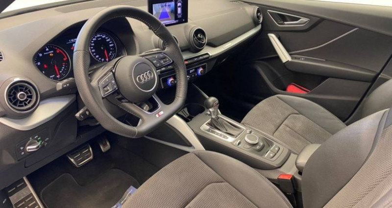 Audi Q2 30 TDI 116 S tronic 7 S Line Blanc occasion à Bourgogne - photo n°3