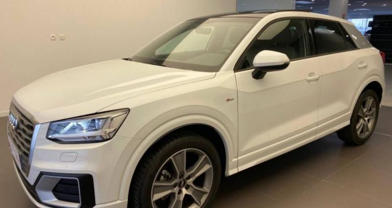 Audi Q2 30 TDI 116 S tronic 7 S Line Blanc occasion à Bourgogne