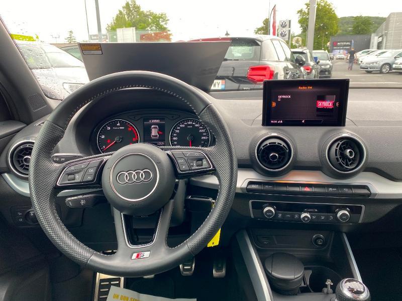Audi Q2 30 TDI 116ch S line Euro6d-T Blanc occasion à Albi - photo n°5