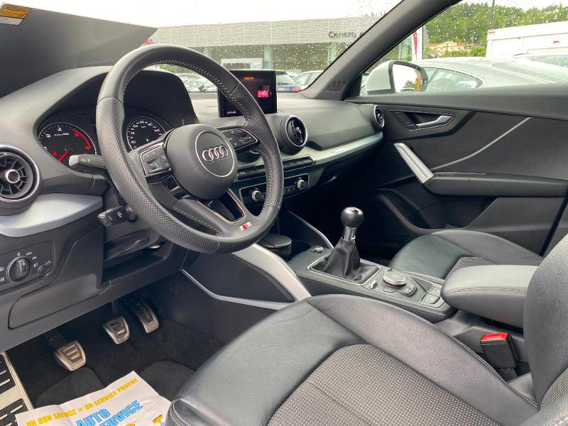 Audi Q2 30 TDI 116ch S line Euro6d-T Blanc occasion à Albi - photo n°7