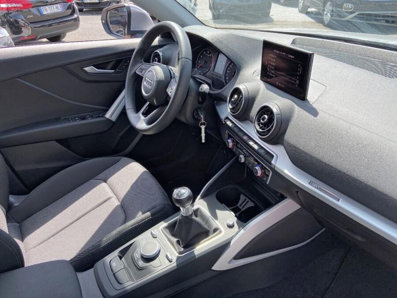 Audi Q2 30 TFSI 116 SPORT LIMITED LED JA17 GPS ATTELAGE Argent occasion à Carcassonne - photo n°9