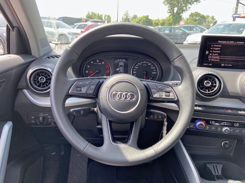 Audi Q2 30 TFSI 116 SPORT LIMITED LED JA17 GPS ATTELAGE Argent occasion à Carcassonne - photo n°13