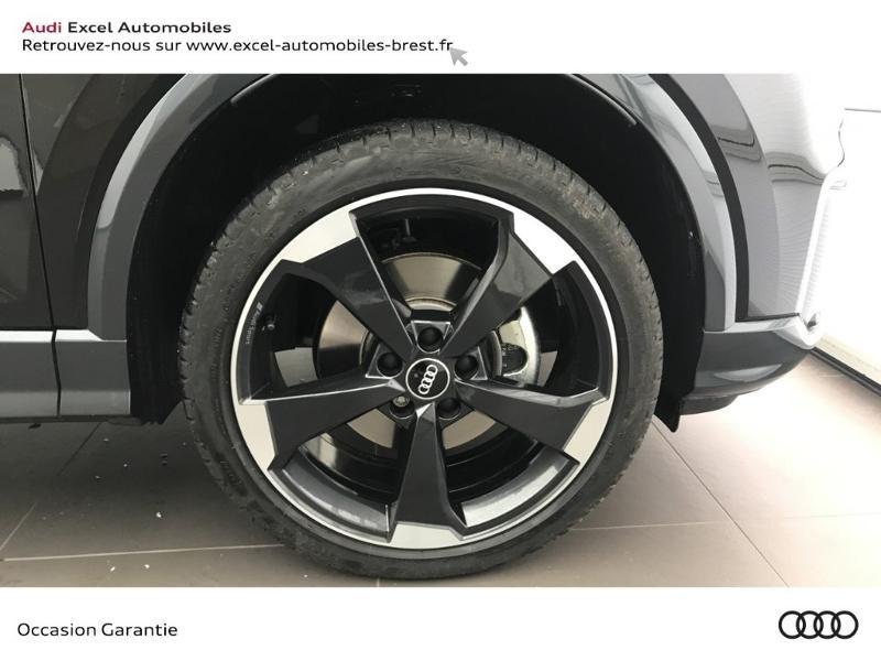 Audi Q2 30 TFSI 116ch Design luxe Euro6dT Noir occasion à Brest - photo n°18