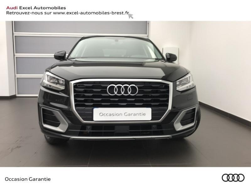 Audi Q2 30 TFSI 116ch Design luxe Euro6dT Noir occasion à Brest - photo n°2