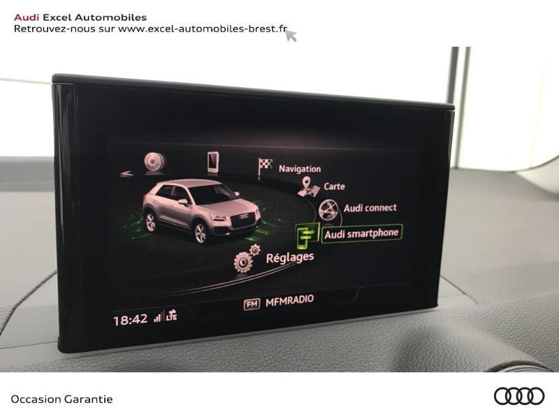 Audi Q2 30 TFSI 116ch Design luxe Euro6dT Noir occasion à Brest - photo n°14