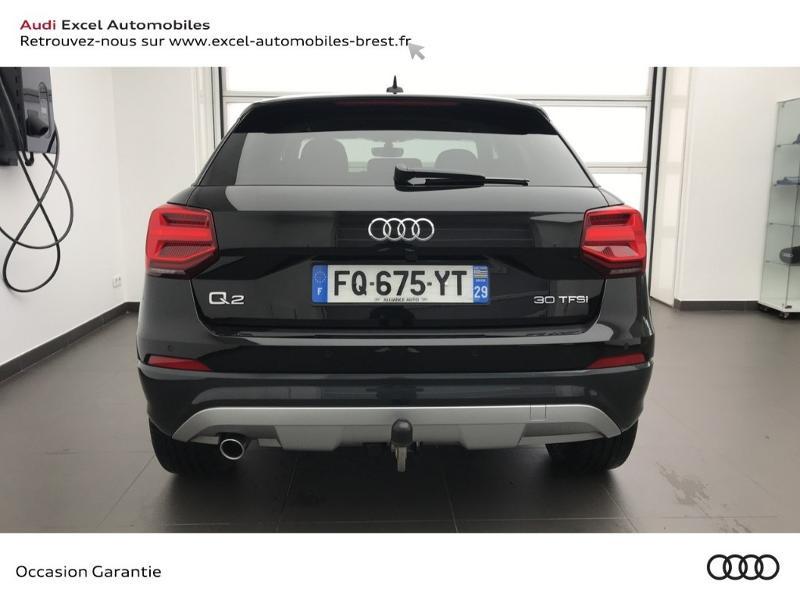 Audi Q2 30 TFSI 116ch Design luxe Euro6dT Noir occasion à Brest - photo n°5