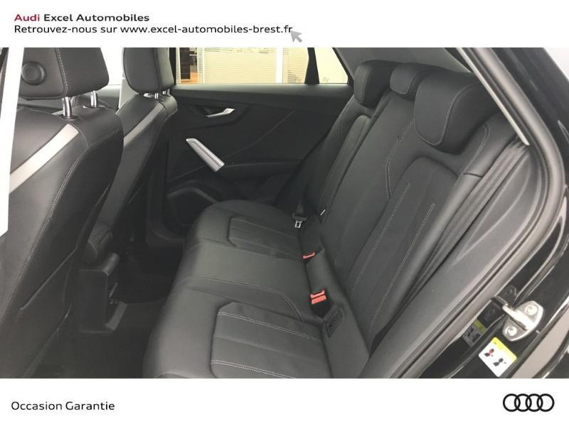 Audi Q2 30 TFSI 116ch Design luxe Euro6dT Noir occasion à Brest - photo n°8