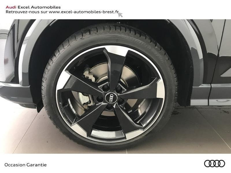 Audi Q2 30 TFSI 116ch Design luxe Euro6dT Noir occasion à Brest - photo n°15