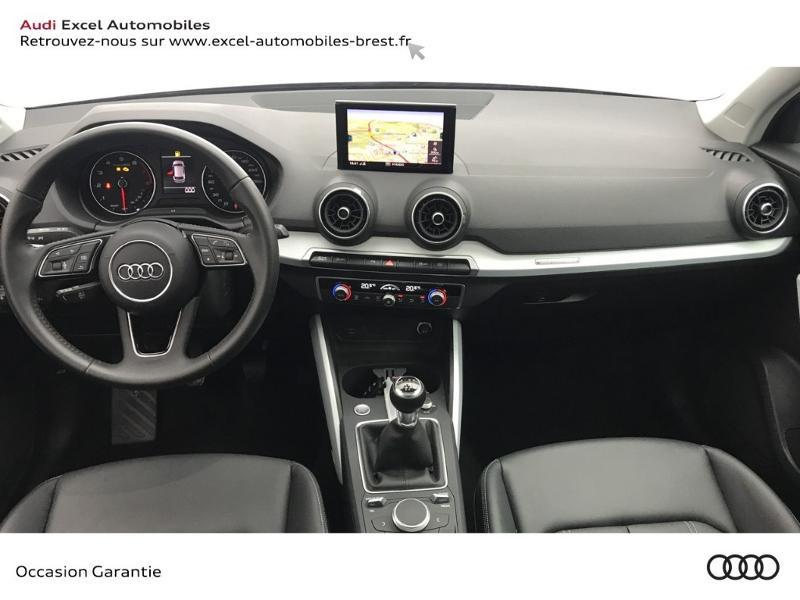Audi Q2 30 TFSI 116ch Design luxe Euro6dT Noir occasion à Brest - photo n°7