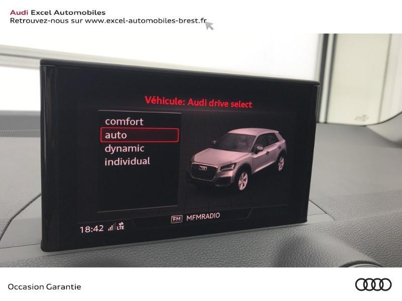 Audi Q2 30 TFSI 116ch Design luxe Euro6dT Noir occasion à Brest - photo n°13