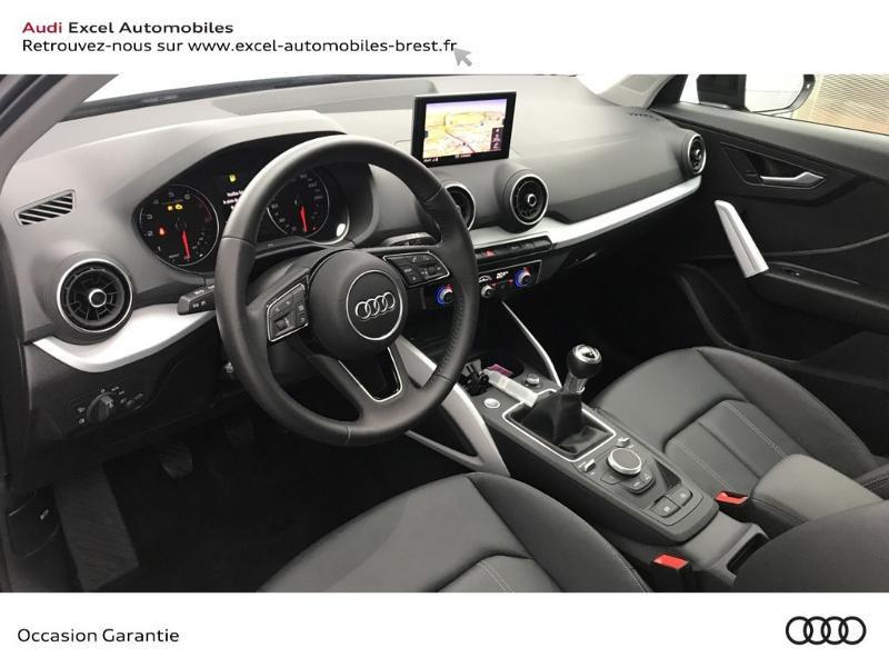 Audi Q2 30 TFSI 116ch Design luxe Euro6dT Noir occasion à Brest - photo n°6