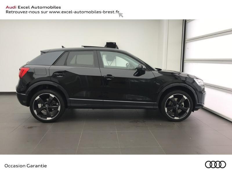 Audi Q2 30 TFSI 116ch Design luxe Euro6dT Noir occasion à Brest - photo n°3
