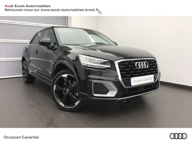Audi Q2 30 TFSI 116ch Design luxe Euro6dT Noir occasion à Brest