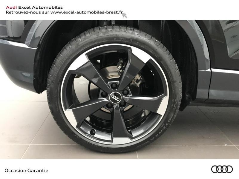 Audi Q2 30 TFSI 116ch Design luxe Euro6dT Noir occasion à Brest - photo n°17