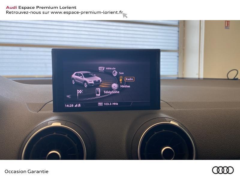 Audi Q2 30 TFSI 116ch Sport Euro6d-T 110g Noir occasion à Lanester - photo n°10
