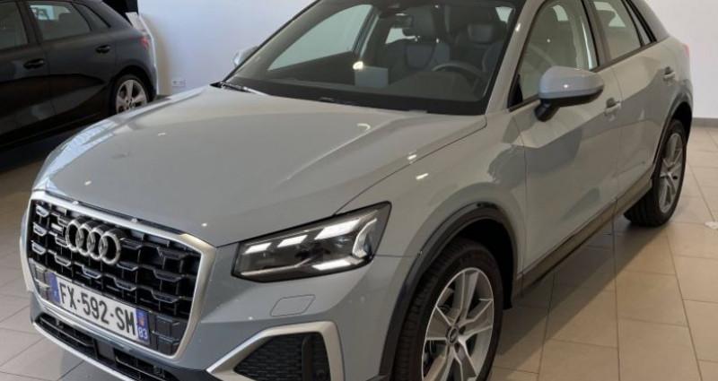 Audi Q2 35 TDI 150 S tronic 7 quattro Design Luxe Gris occasion à La Garde - photo n°2