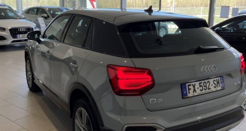Audi Q2 35 TDI 150 S tronic 7 quattro Design Luxe Gris occasion à La Garde - photo n°4