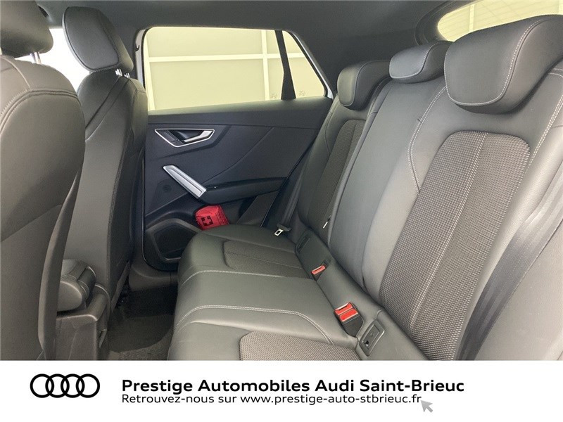Audi Q2 35 TDI 150 S TRONIC 7 QUATTRO Blanc occasion à Saint-Brieuc - photo n°6
