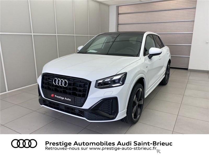 Audi Q2 35 TDI 150 S TRONIC 7 QUATTRO Blanc occasion à Saint-Brieuc