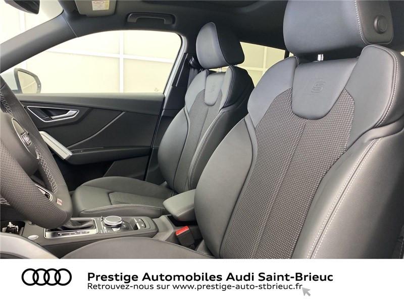 Audi Q2 35 TDI 150 S TRONIC 7 QUATTRO Blanc occasion à Saint-Brieuc - photo n°5