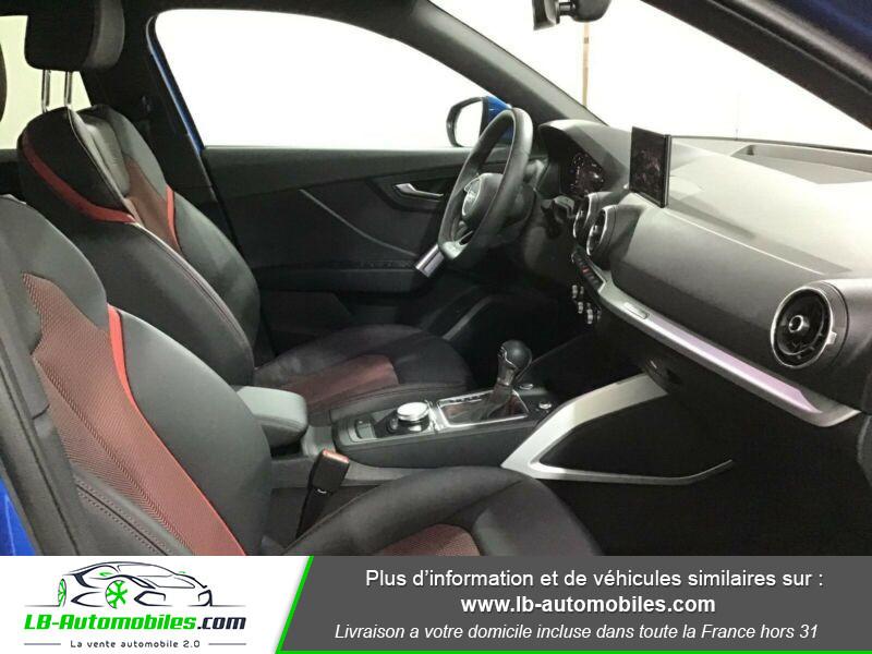 Audi Q2 35 TDI 150 S tronic 7 / S-Line / Quattro Bleu occasion à Beaupuy - photo n°4