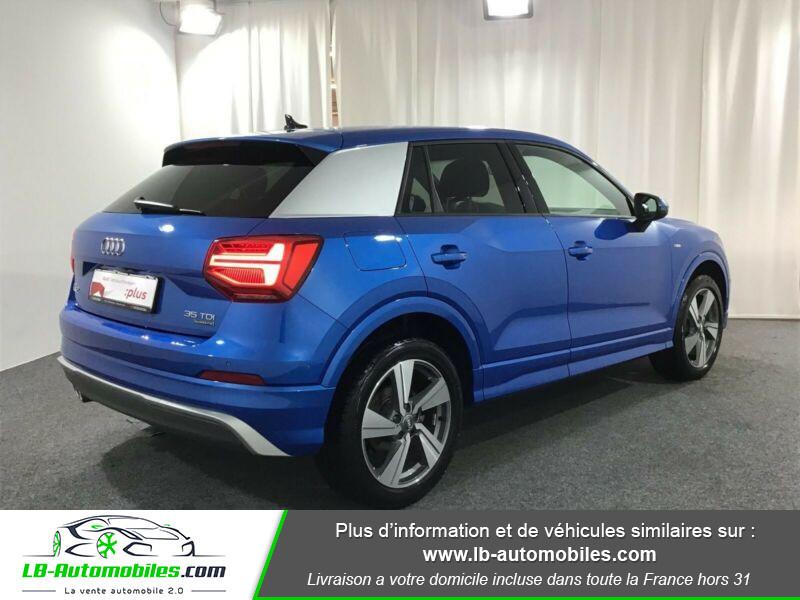 Audi Q2 35 TDI 150 S tronic 7 / S-Line / Quattro Bleu occasion à Beaupuy - photo n°3
