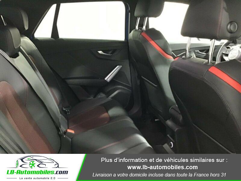 Audi Q2 35 TDI 150 S tronic 7 / S-Line / Quattro Bleu occasion à Beaupuy - photo n°5