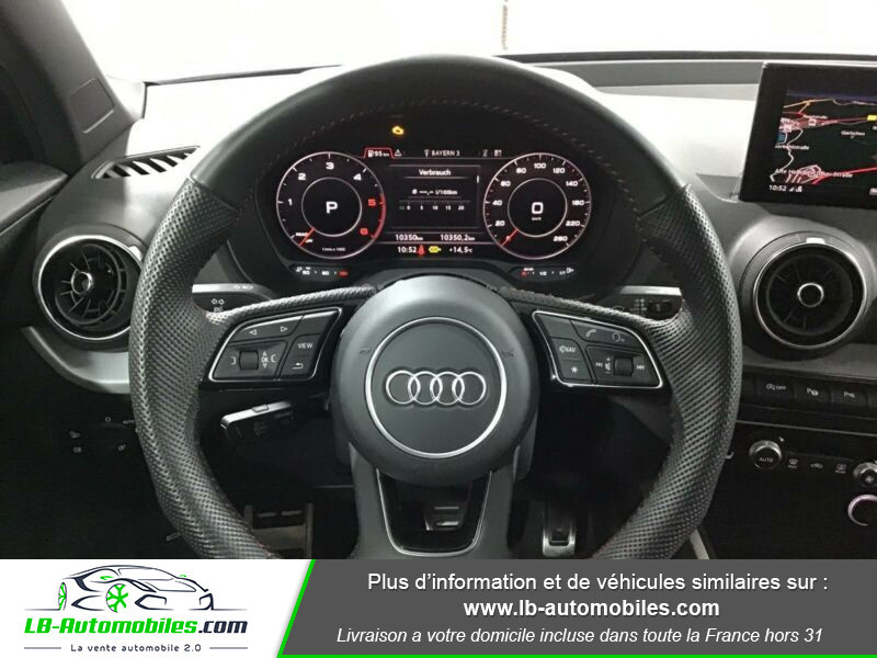 Audi Q2 35 TDI 150 S tronic 7 / S-Line / Quattro Bleu occasion à Beaupuy - photo n°7