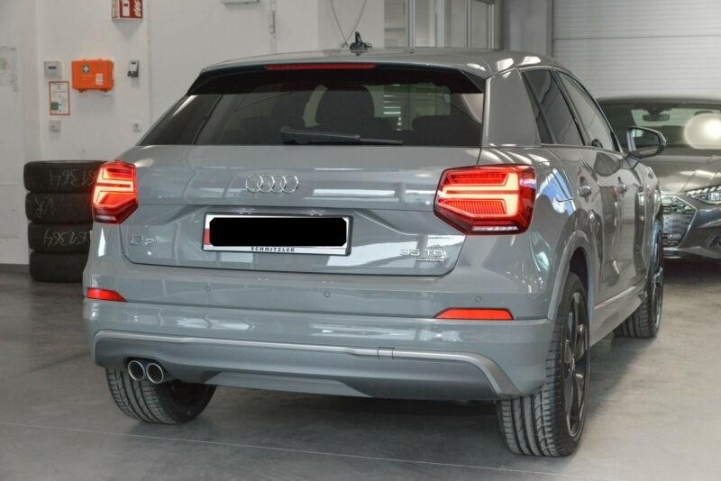 Audi Q2 35 TDI 150CH S LINE PLUS QUATTRO S TRONIC 7 Gris occasion à Villenave-d'Ornon - photo n°2