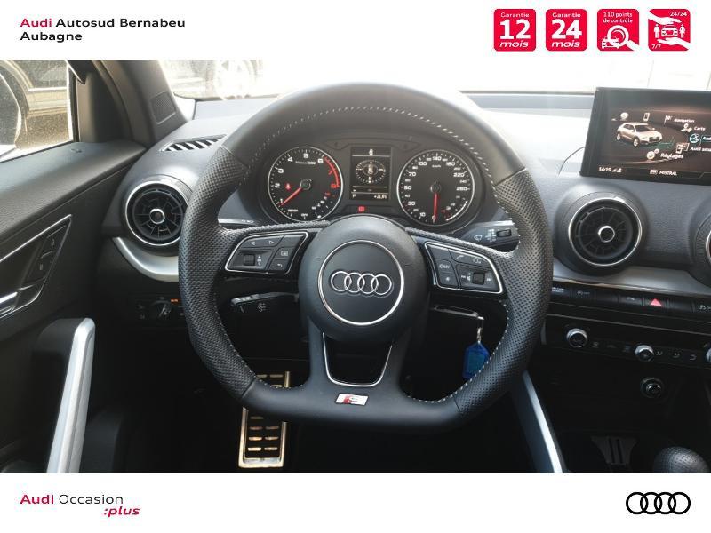 Audi Q2 35 TFSI 150ch COD S line Plus S tronic 7 Gris occasion à Aubagne - photo n°7