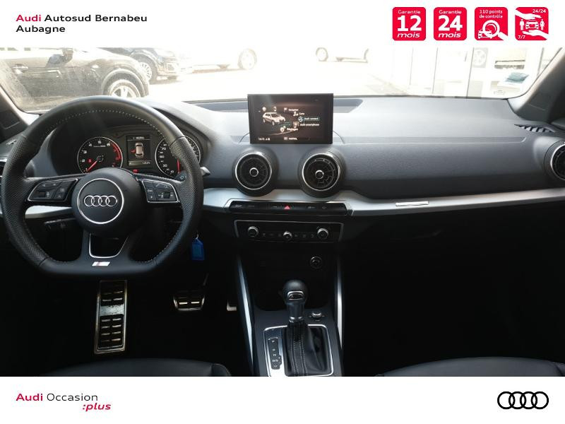 Audi Q2 35 TFSI 150ch COD S line Plus S tronic 7 Gris occasion à Aubagne - photo n°6