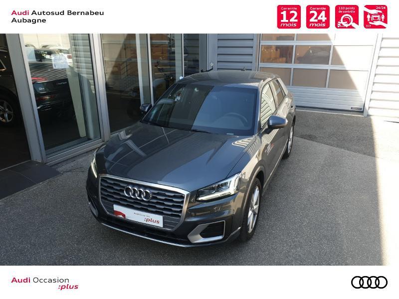Audi Q2 35 TFSI 150ch COD S line Plus S tronic 7 Gris occasion à Aubagne - photo n°4