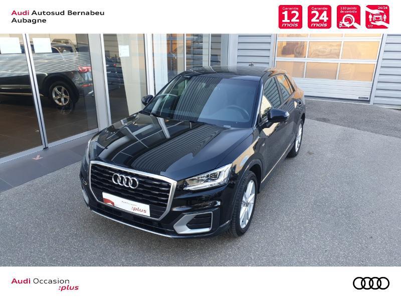 Audi Q2 35 TFSI 150ch COD S line S tronic 7 Euro6d-T Noir occasion à Aubagne - photo n°4