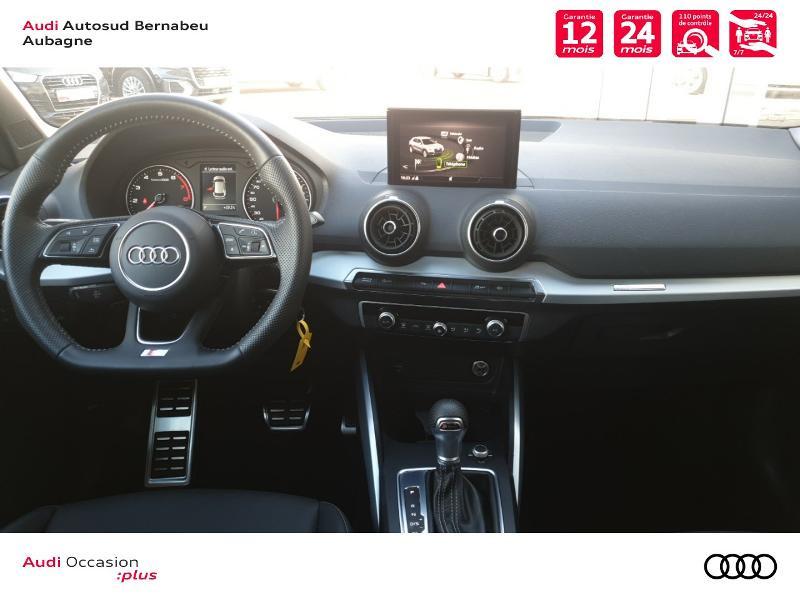 Audi Q2 35 TFSI 150ch COD S line S tronic 7 Euro6d-T Noir occasion à Aubagne - photo n°6