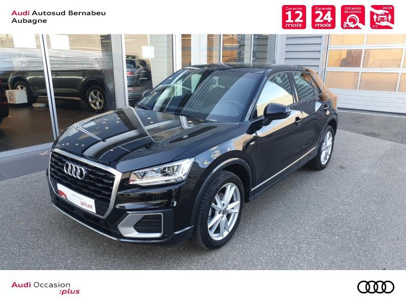 Audi Q2 35 TFSI 150ch COD S line S tronic 7 Euro6d-T Noir occasion à Aubagne