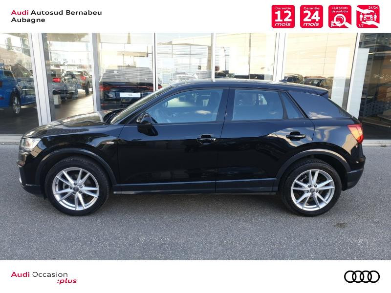 Audi Q2 35 TFSI 150ch COD S line S tronic 7 Euro6d-T Noir occasion à Aubagne - photo n°2