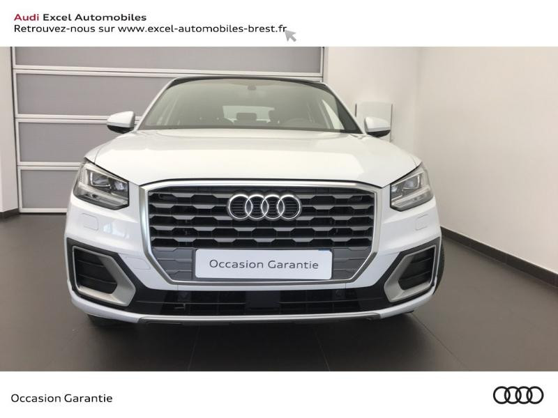 Audi Q2 35 TFSI COD (1.5 TFSI 150CH) STRONIC7 S LINE Blanc occasion à Brest - photo n°2
