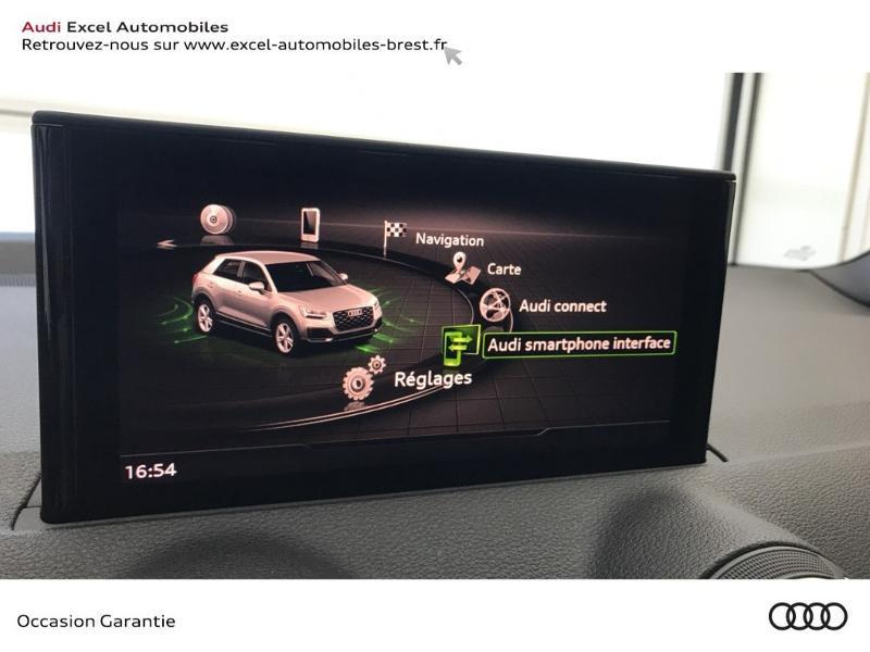 Audi Q2 35 TFSI COD (1.5 TFSI 150CH) STRONIC7 S LINE Blanc occasion à Brest - photo n°15
