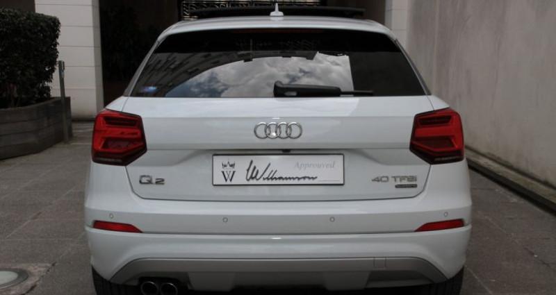 Audi Q2 40 tfsi quattro 190hp i Blanc occasion à Neuilly Sur Seine - photo n°5