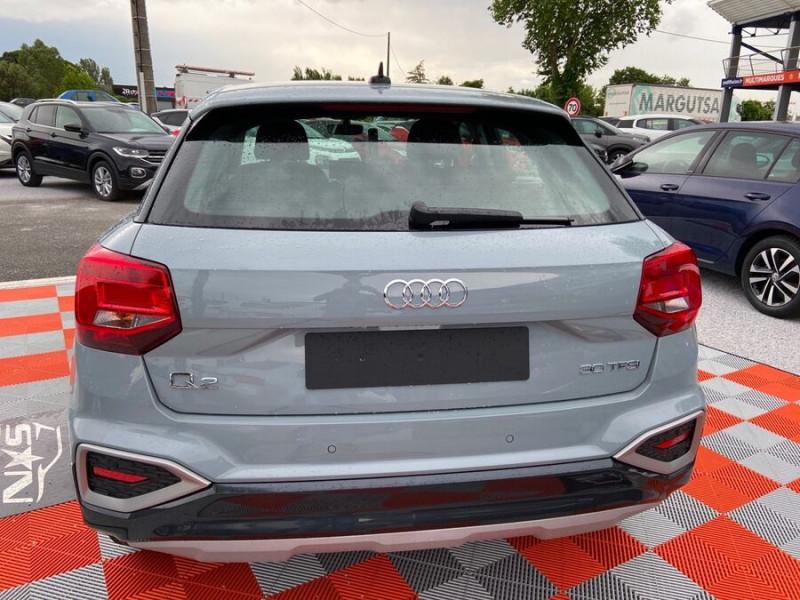 Audi Q2 NEW 30 TFSI 110 BV6 DESIGN GPS Cockpit LEDS Gris occasion à Montauban - photo n°6