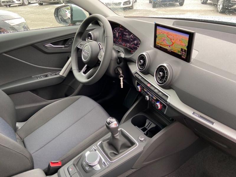 Audi Q2 NEW 30 TFSI 110 BV6 DESIGN GPS Cockpit LEDS Gris occasion à Montauban - photo n°9