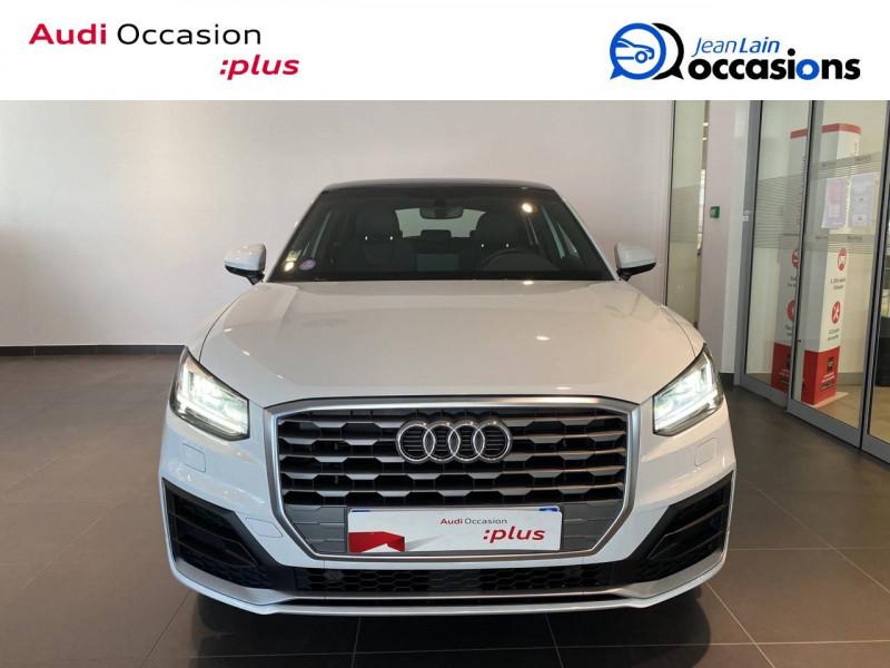 Audi Q2 Q2 1.4 TFSI COD 150 ch BVM6 S Line 5p Blanc occasion à Échirolles - photo n°2
