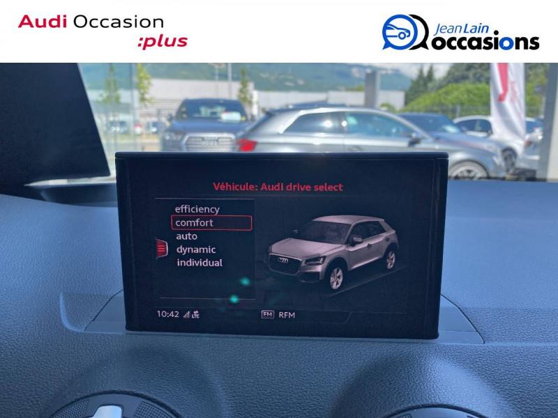 Audi Q2 Q2 1.4 TFSI COD 150 ch BVM6 S Line 5p Blanc occasion à Échirolles - photo n°18