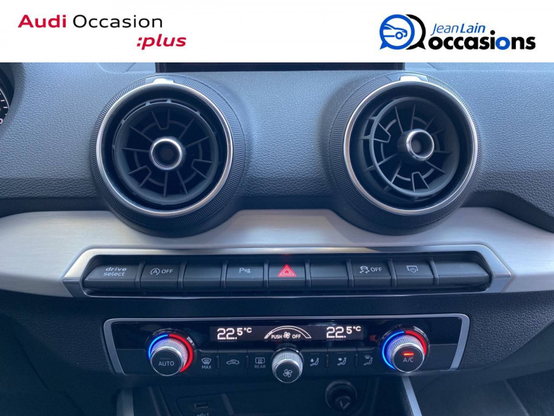 Audi Q2 Q2 1.4 TFSI COD 150 ch BVM6 S Line 5p Blanc occasion à Échirolles - photo n°12