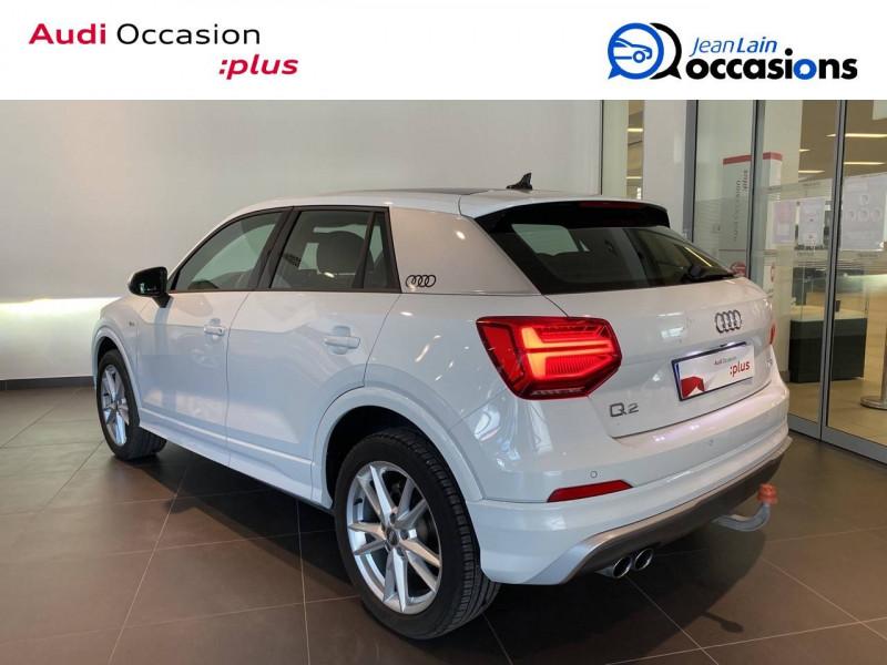 Audi Q2 Q2 1.4 TFSI COD 150 ch BVM6 S Line 5p Blanc occasion à Échirolles - photo n°6