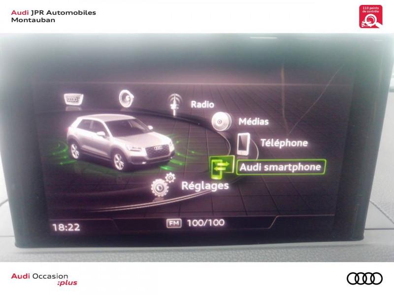 Audi Q2 Q2 1.6 TDI 116 ch BVM6 Design 5p  occasion à montauban - photo n°8